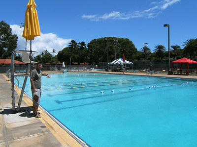 The pool at Hickam