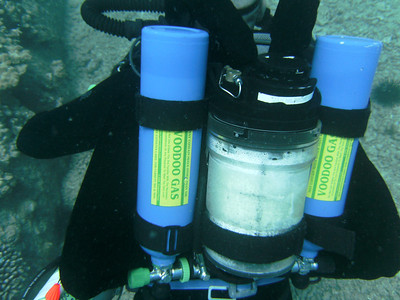 Guy with a rebreather